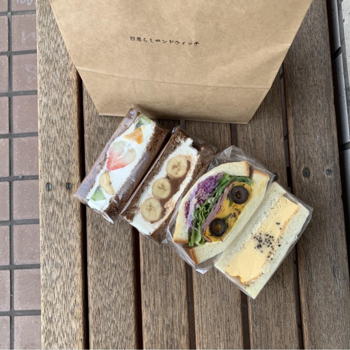 【千葉カフェ】朝から行列!日暮らしサンドイッチ❤︎_1_4