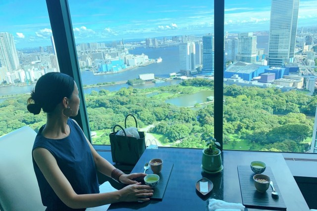 CONRAD東京「風花」日本料理・創作和食で女子会ランチ_1_8