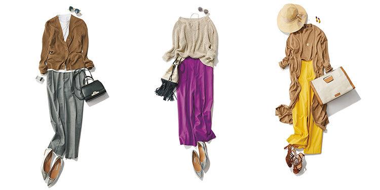 アラフォーの着こなしをきりっとクールに。上品で今っぽいパンツコーデは? | 2019 | 40代レディースファッション_1_1