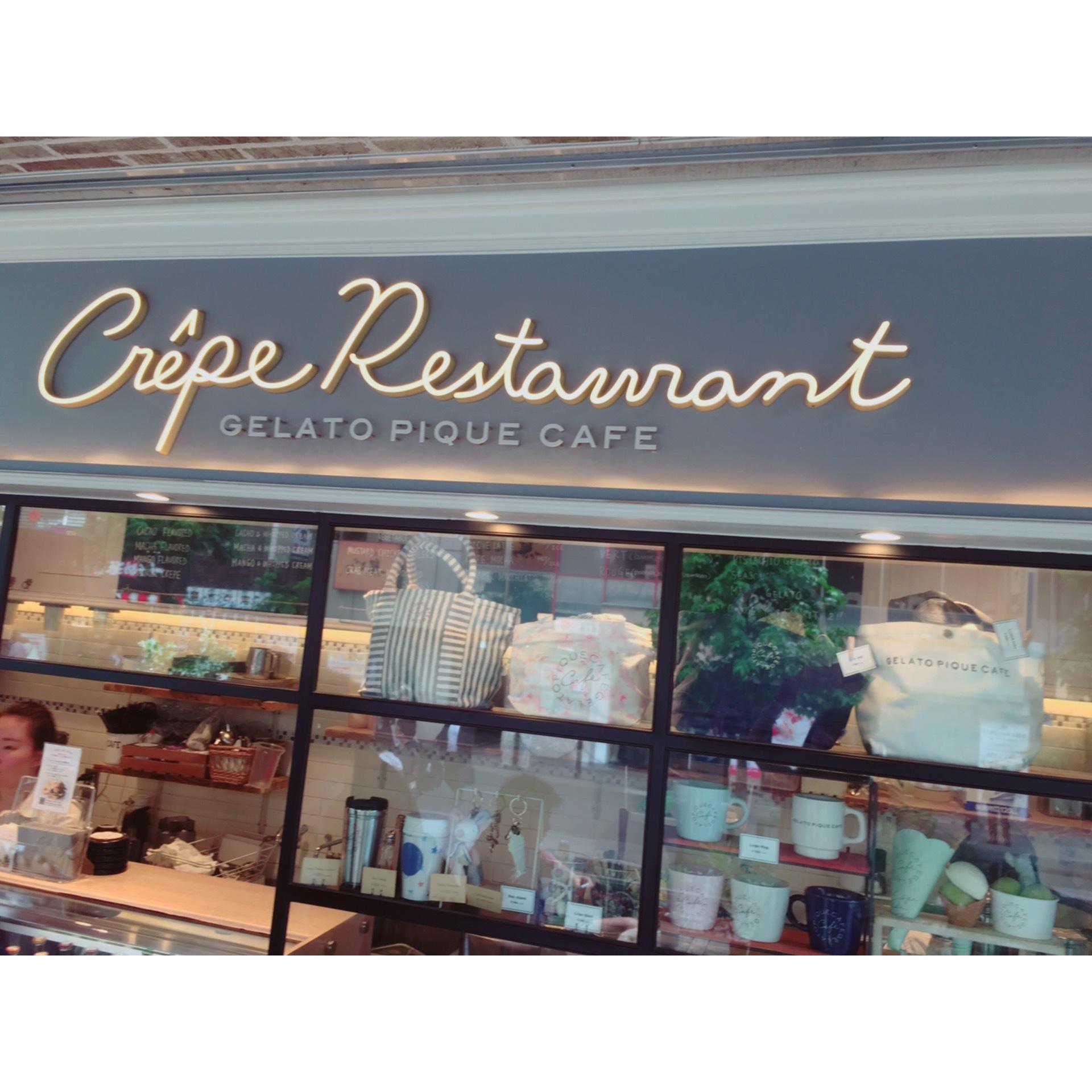 テラス席が気持ちいい♪「gelato pique cafe」_1_1