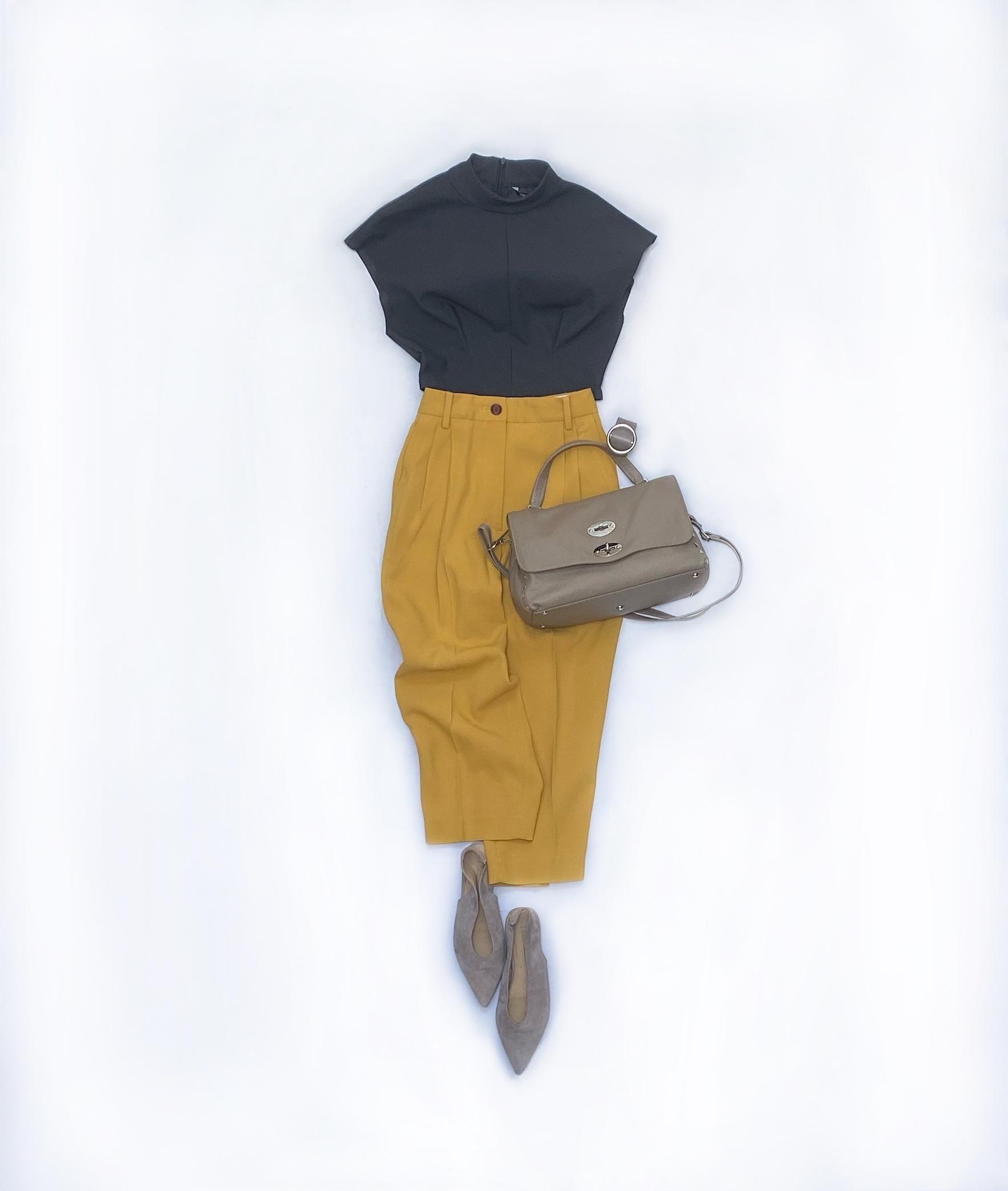 秋につなぐ渋色コーデ&大人の日常カジュアルコーデ 2選_1_1