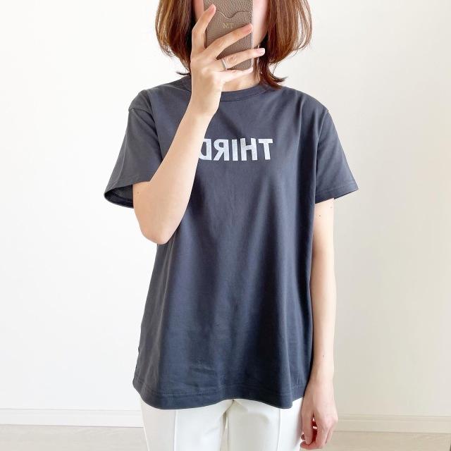 別注!限定ロゴTシャツで春先取りスタイル【tomomiyuコーデ】_1_3