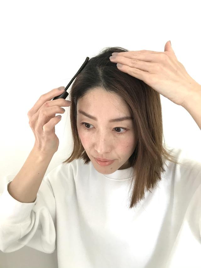 お出かけ前の白髪隠しに便利な1本。初めてのヘアマスカラ体験!_1_2-1