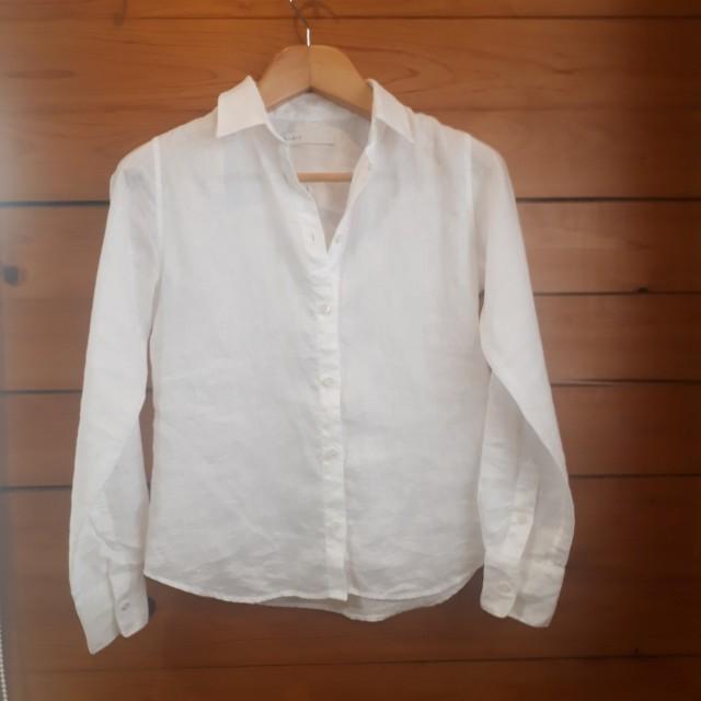 リネンシャツ(NOBLE)