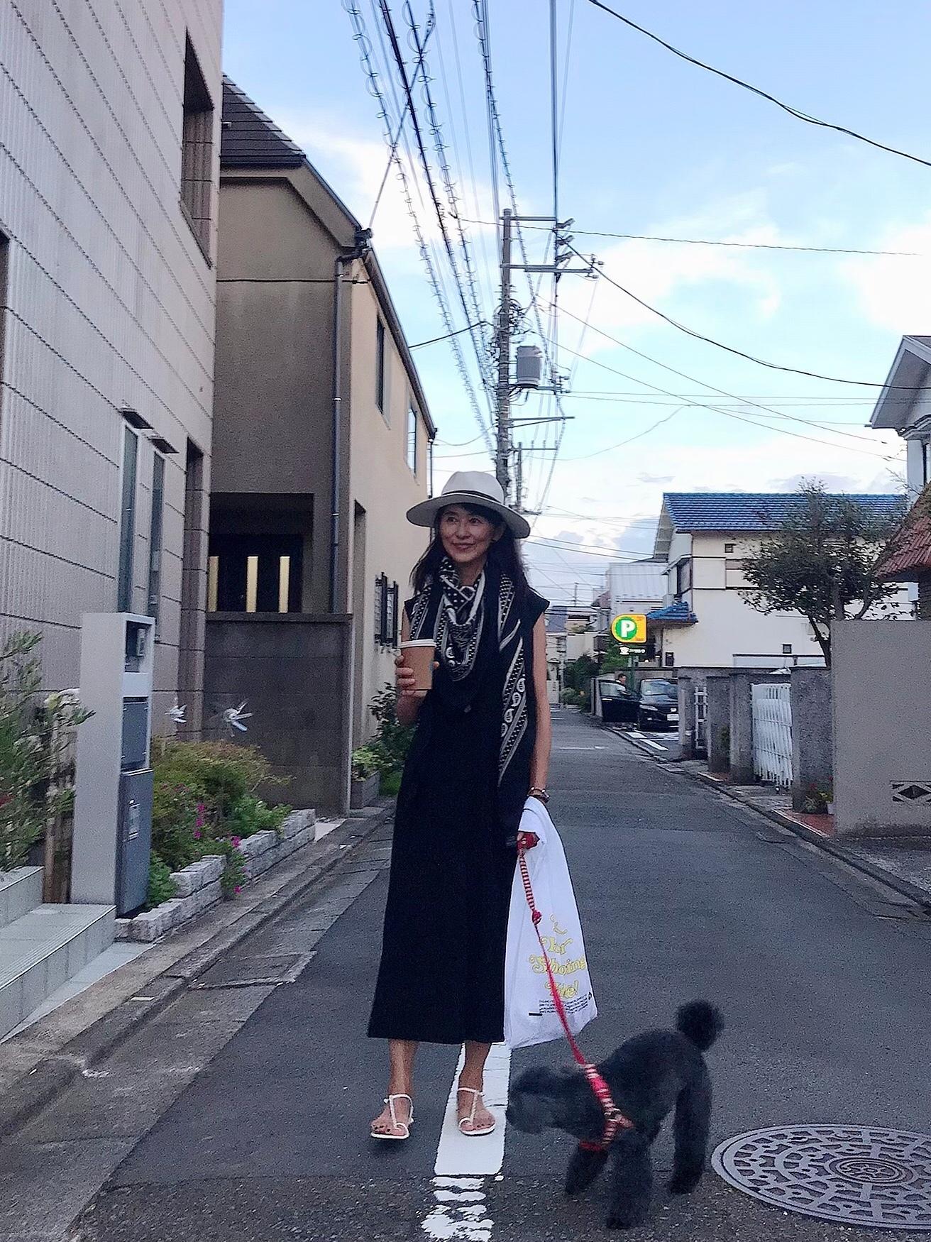 愛犬とのワンマイル散歩コーデ_1_1