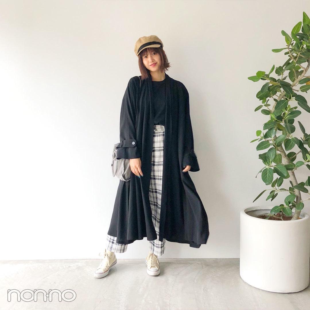 渡邊理佐|モデルの私服