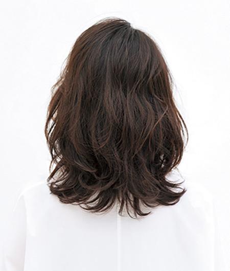 究極にラフなスタイル。ドライな質感が新しいミディアムヘア【40代のミディアムヘア】_1_3