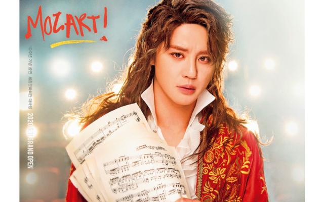 '20年6〜8月に行われた韓国上演10周年『モーツァルト!』のキム・ジュンス。
