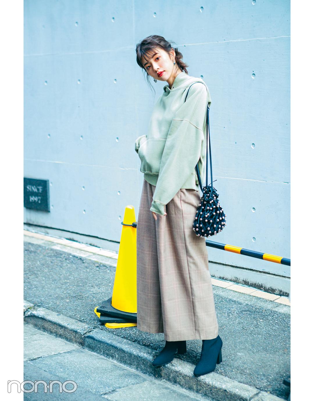 鈴木ゆうかの冬の推し服はきれい色スウェット! 最新3コーデはコチラ♡ _1_3