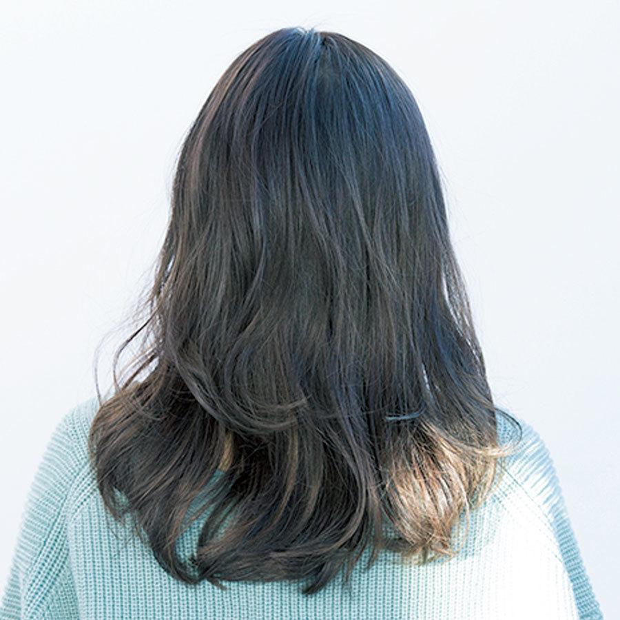 柔らかい髪質を生かしたふんわり、軽やかセミロング【40代のロングヘア】_1_1-3