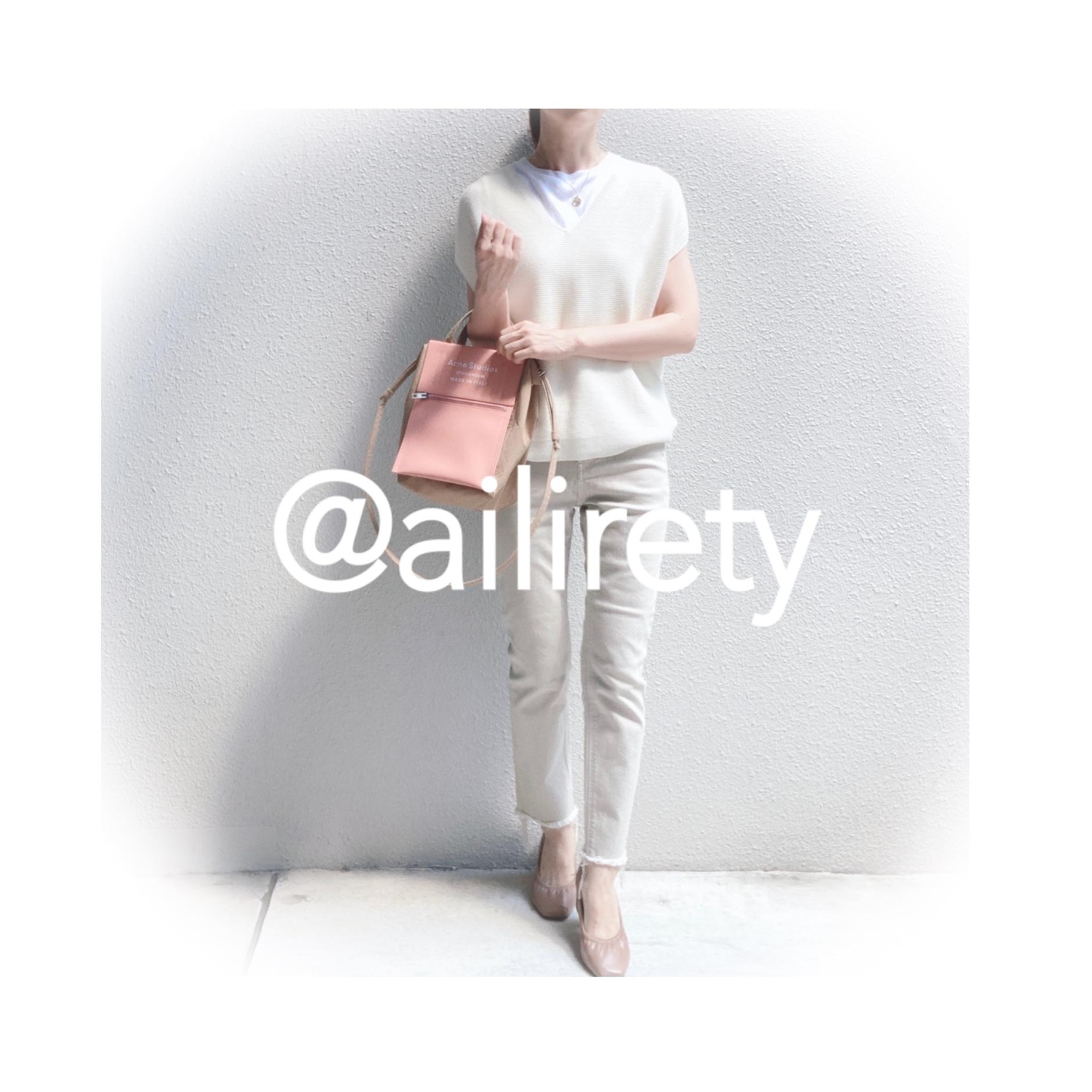 シンプルな白Tシャツの着回しコーデ_1_7