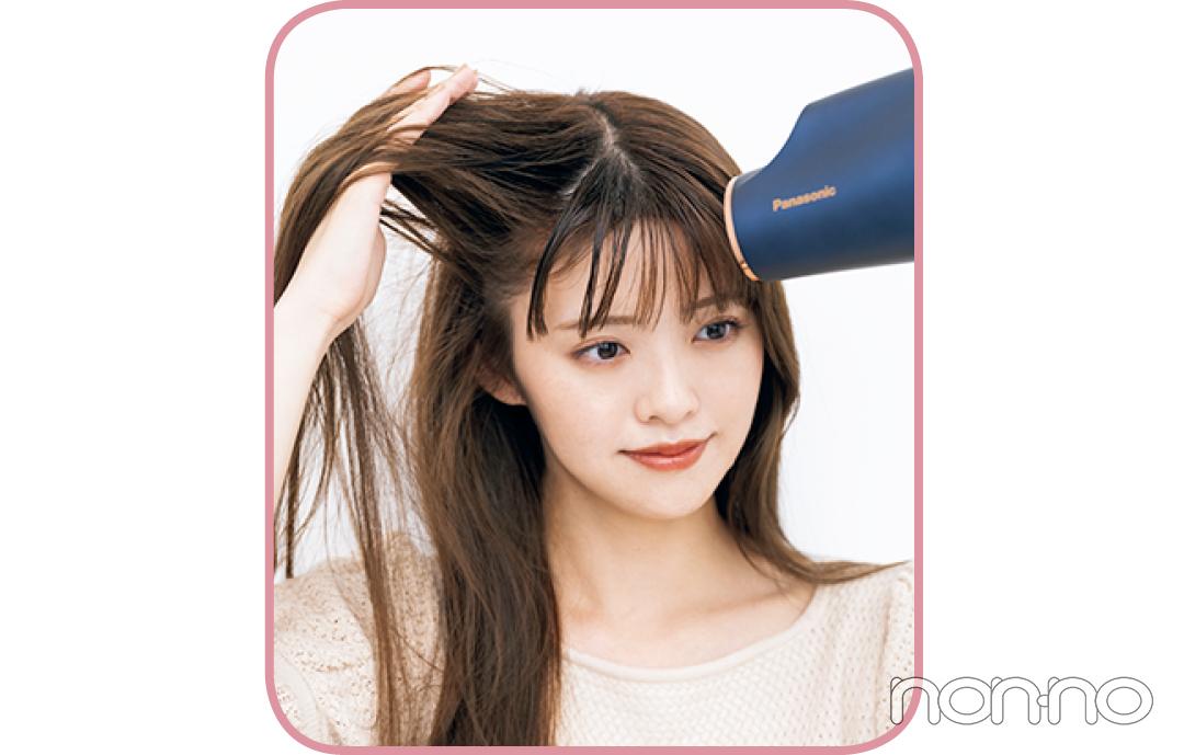 鈴木ゆうかの真夏の髪管理バイブルプロセスカット5-3