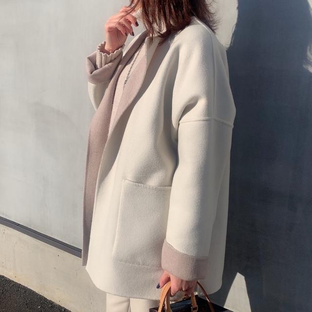 """冬本番、今年大人気の""""短め丈コート""""を NEW IN_1_4-1"""
