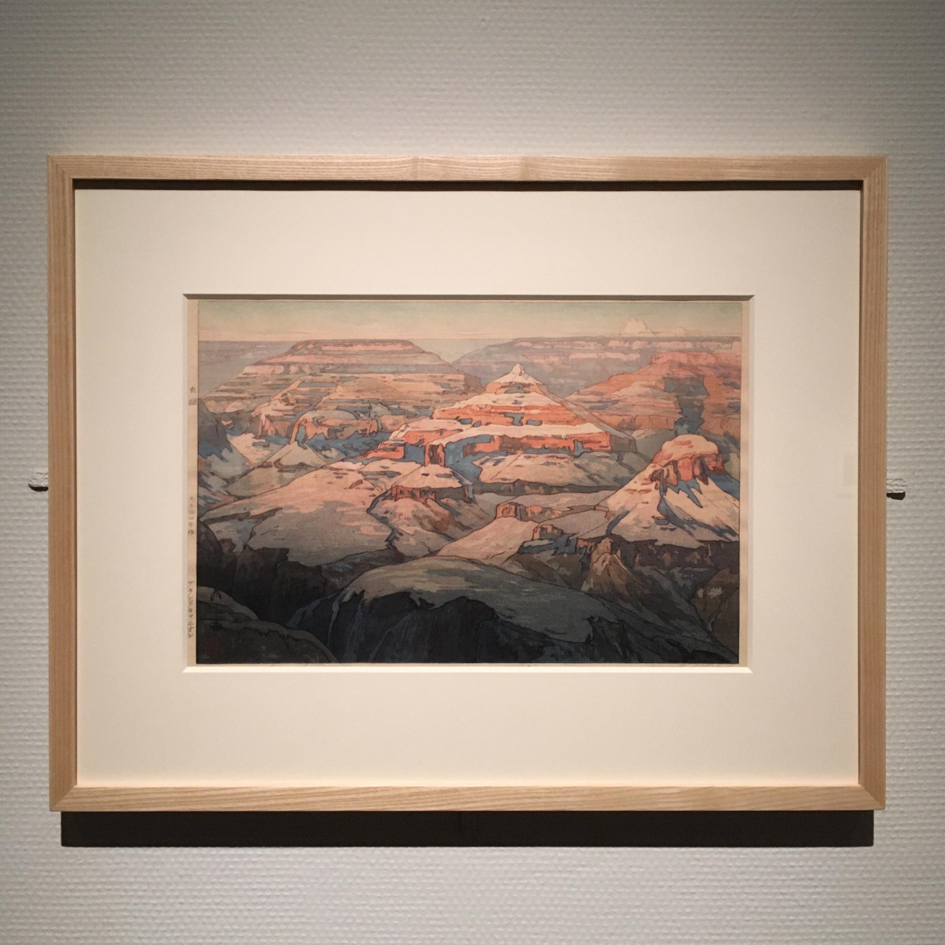 吉田博展で、木版画による世界旅行を。_1_2-1