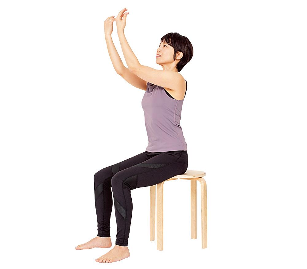 肩甲骨まわりを鍛えて、姿勢も美しく!【2度と太る気がしないダイエット】_1_4-2