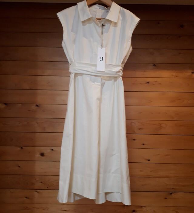 ユニクロ+Jコレクションシャツワンピース