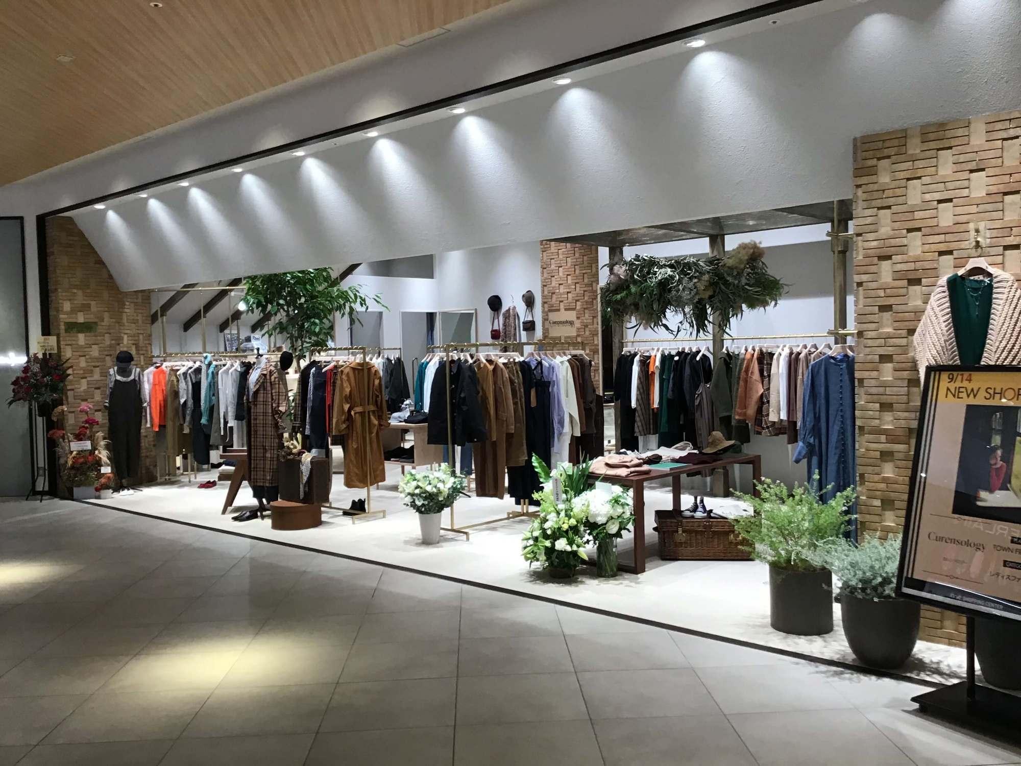 40代ファッション 9月14日にオープンしたカレンソロジー 二子玉川