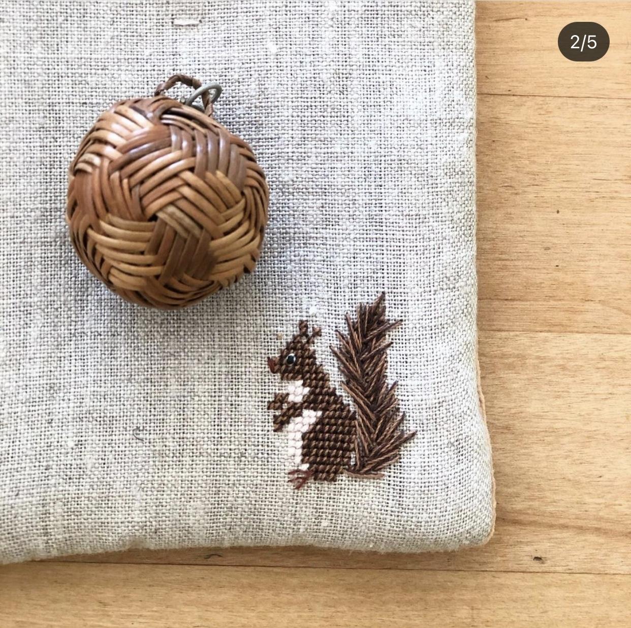 お菓子時間の布小物 〜おやつマット編_1_13-2