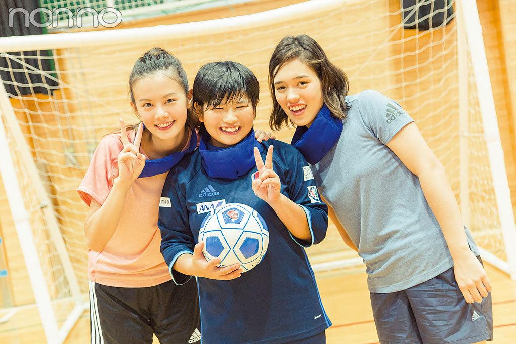 泉はる、ブラインドサッカー女子日本代表の菊島宙さんに会う!【 パラスポgirlに会いたい♡連載第2回】_1_1