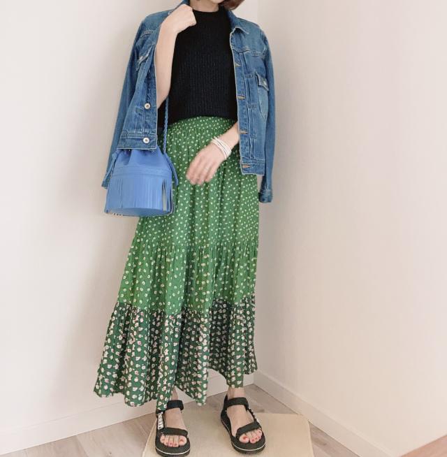上下UNIQLOで出来ちゃう♥初夏コーデ【momoko_fashion】_1_2-2