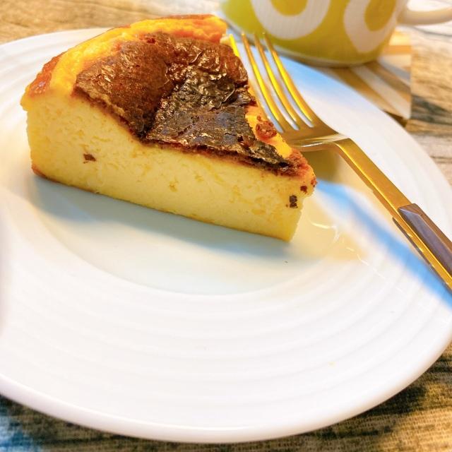 週末におすすめのお菓子作り♡バスクチーズケーキ_1_1-2