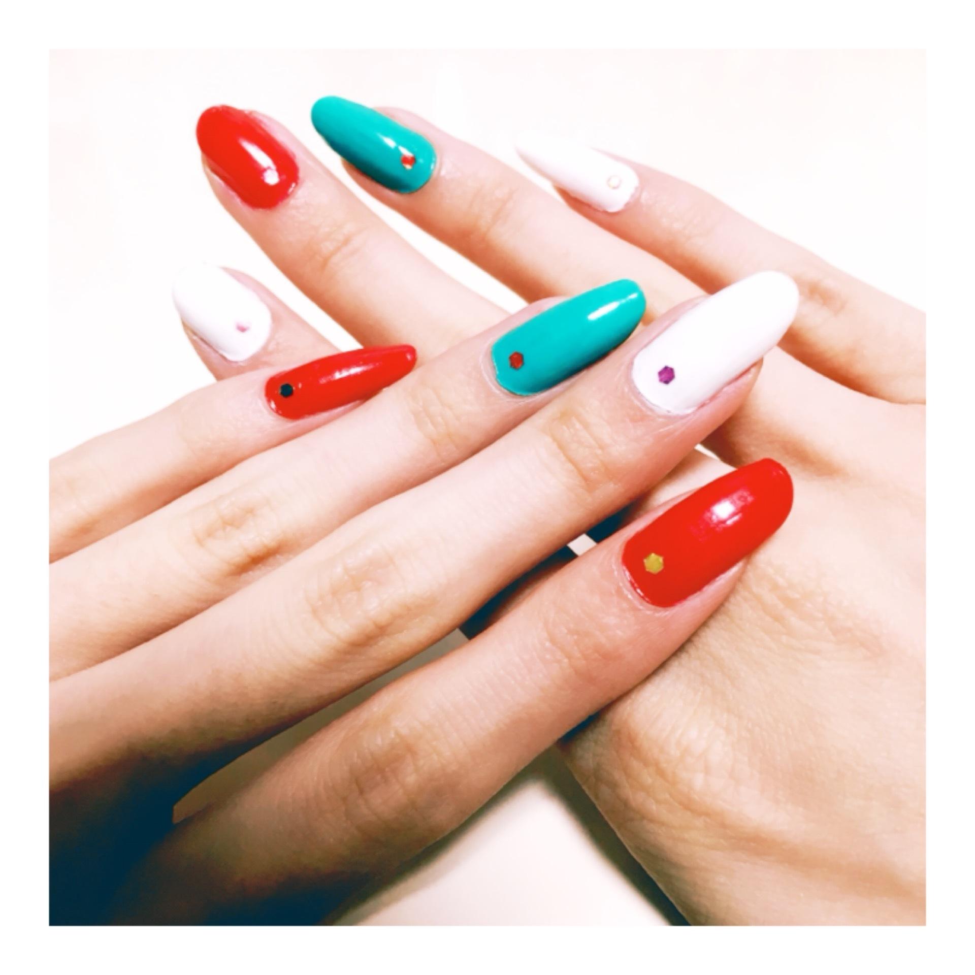プチプラ!『 クリスマスカラー New nail ✩』_1_2