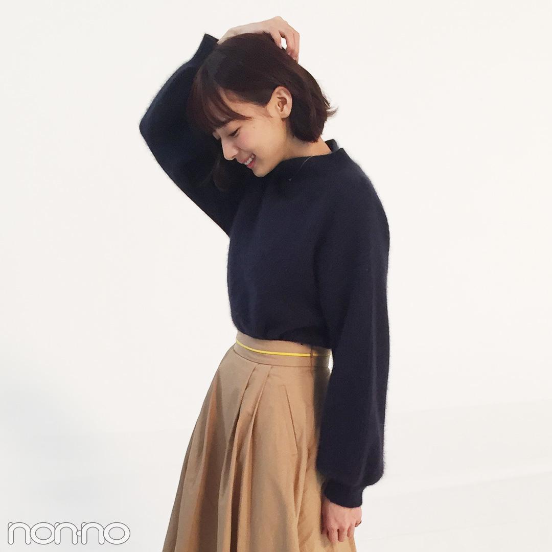 岡田紗佳の冬コーデは黒&ベージュで大人っぽく!【モデルの私服スナップ】_1_2-1