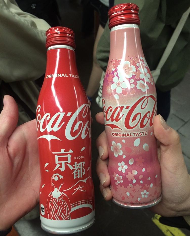 京都限定のコカコーラボトル♡