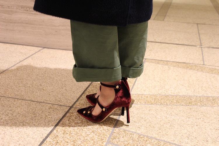 カジュアルスタイルに女っぷり靴_1_3
