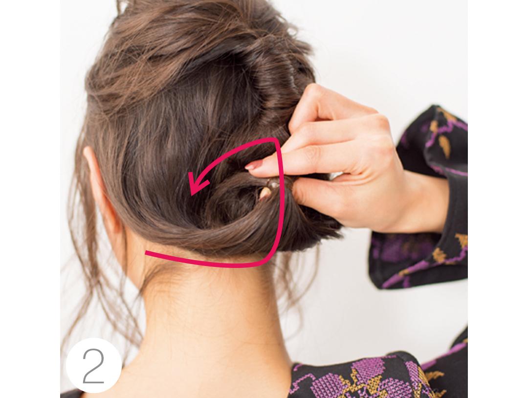 デートのまとめ髪は、鈴木友菜がお手本! 【冬映えヘアアレンジ】_1_2-3