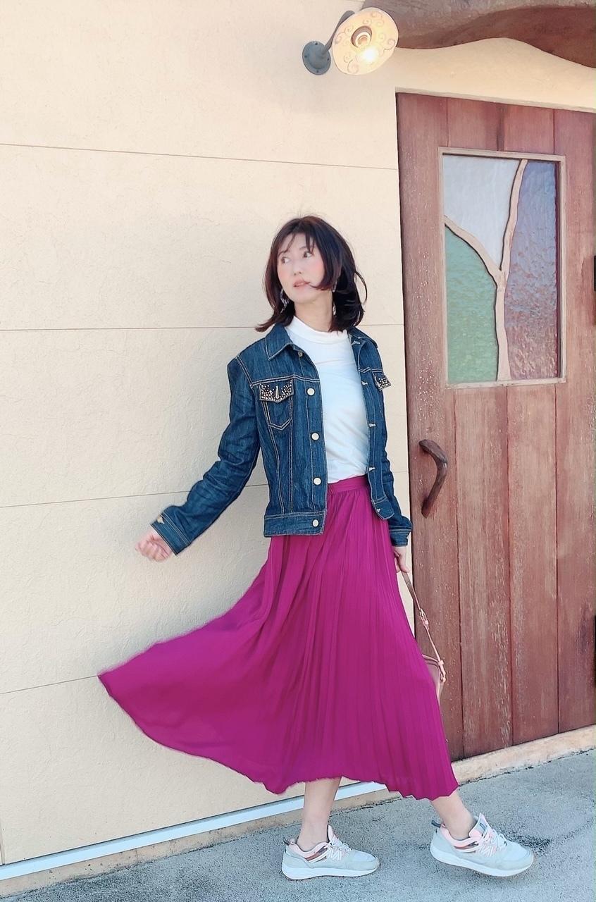 華組ブロガーのスカートパンツおしゃれコーデ