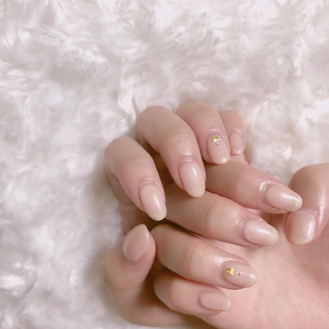 【 第110回❤︎ 】薬指のハートがポイント♡ミルキーピンクネイル*_1_2