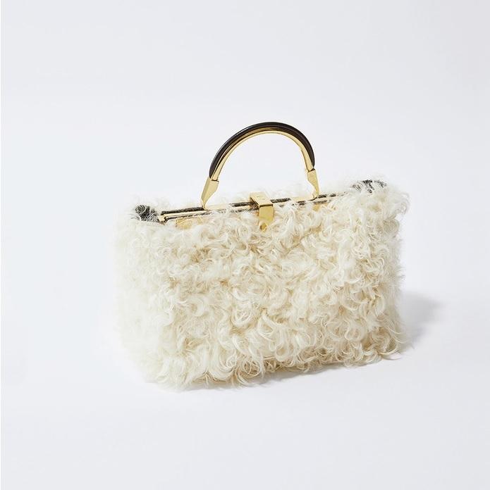 ファッション ザンケッティのラムファーバッグ