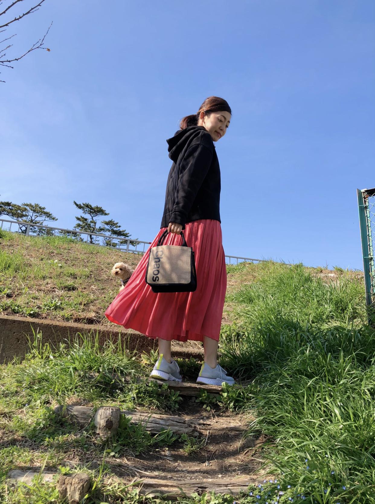 〝こでかけBAG〟&ひらりん華やぎスカートでお散歩_1_3