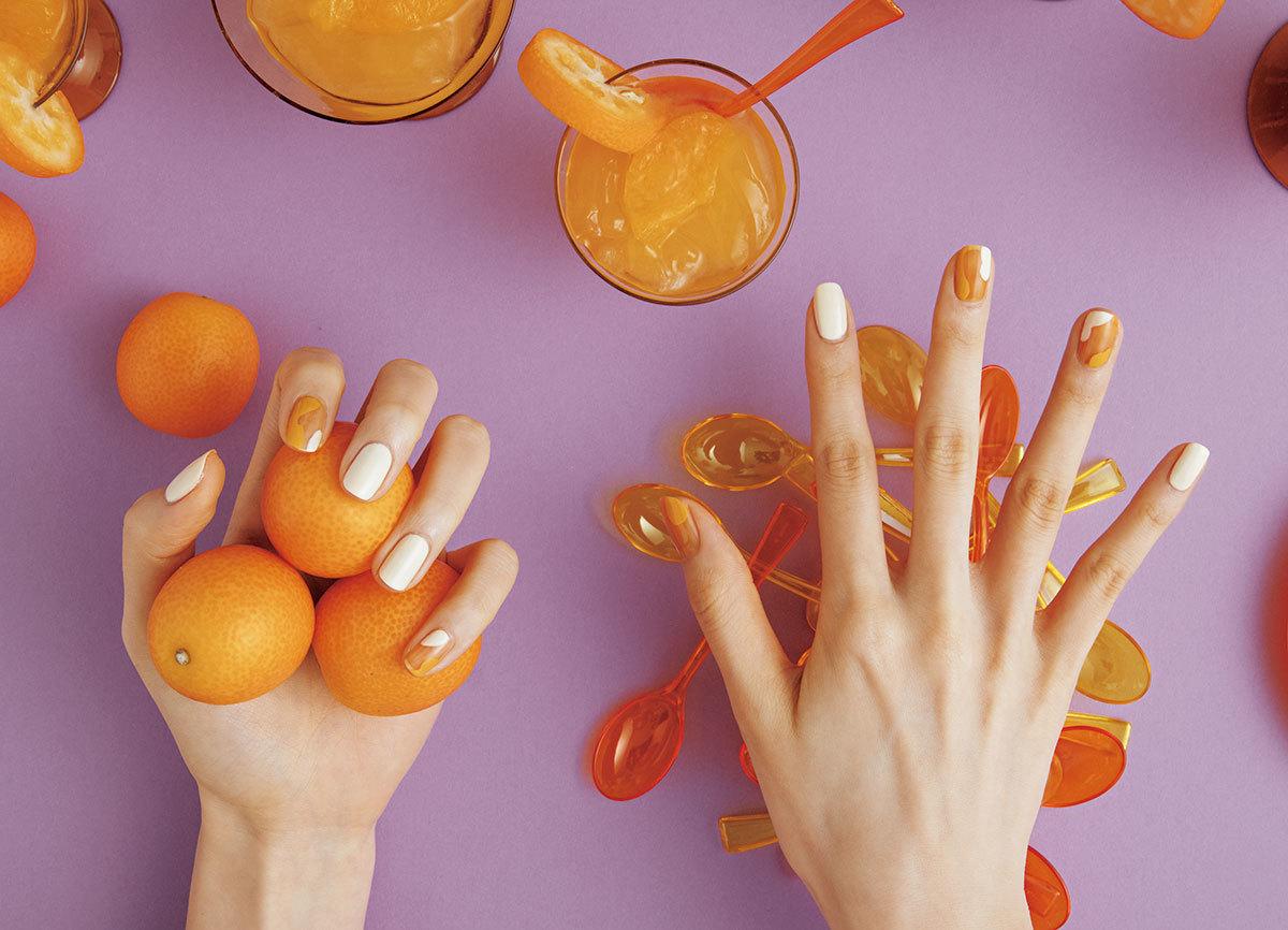 CLEAR VITAMIN COLOR ビタミンカラーは〝透け感〞を重視!