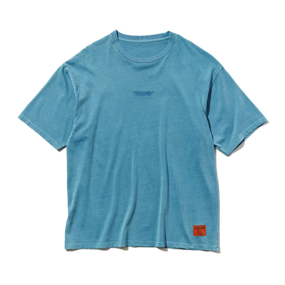 「着られちゃってる感」が逆に可愛い! メンズの大きめロゴTシャツを1枚★【男子服vol.1】_1_3-1