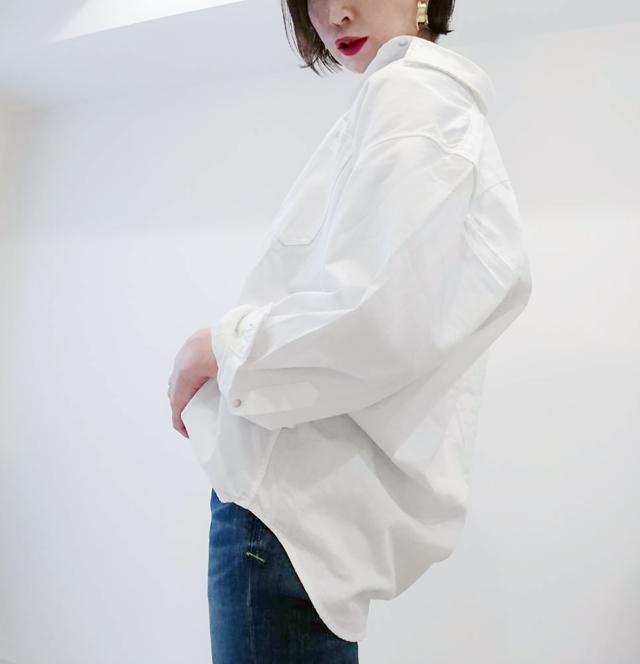 UNIQLOのデニムオーバーシャツで40代のエフォートレスコーデ_1_3