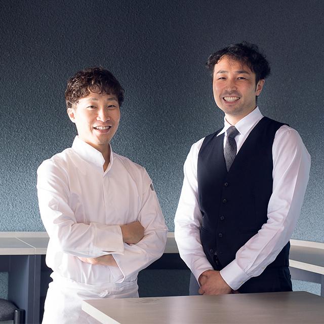 野田達也シ ェフと大井充さんのコンビネーションが見事