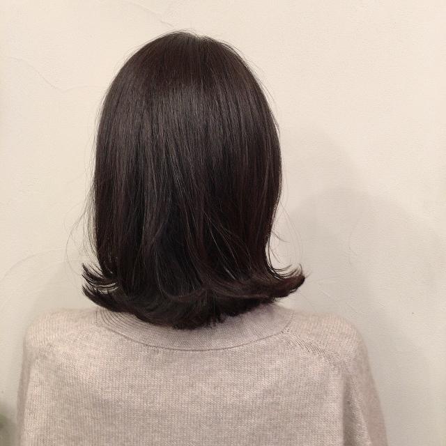 【40代髪型】簡単にヘアースタイルが決まる‼︎大人のくびれミディアム_1_2-1