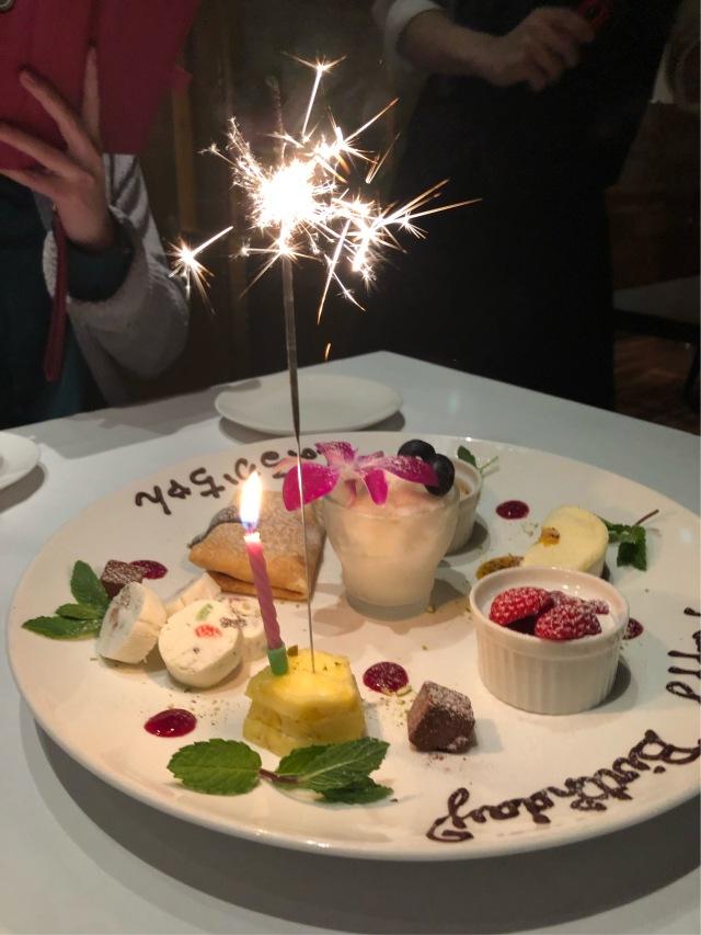 桜を見ながら birthday party♡_1_4