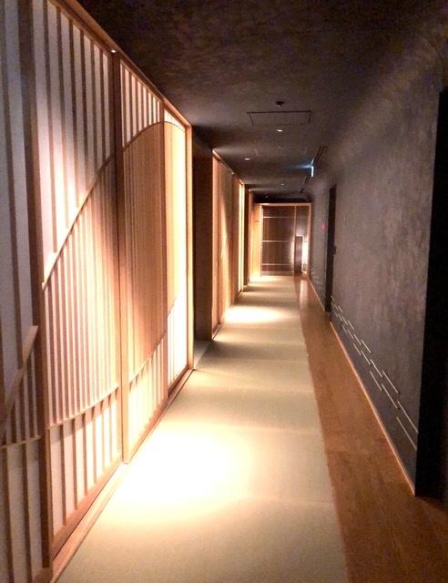 星のや東京 客室階廊下