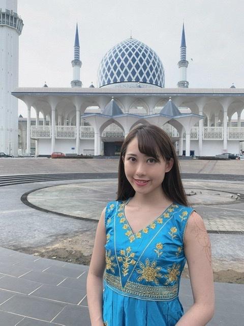 映え女子旅♡ピンクとブルーのマスク in マレーシア_1_4