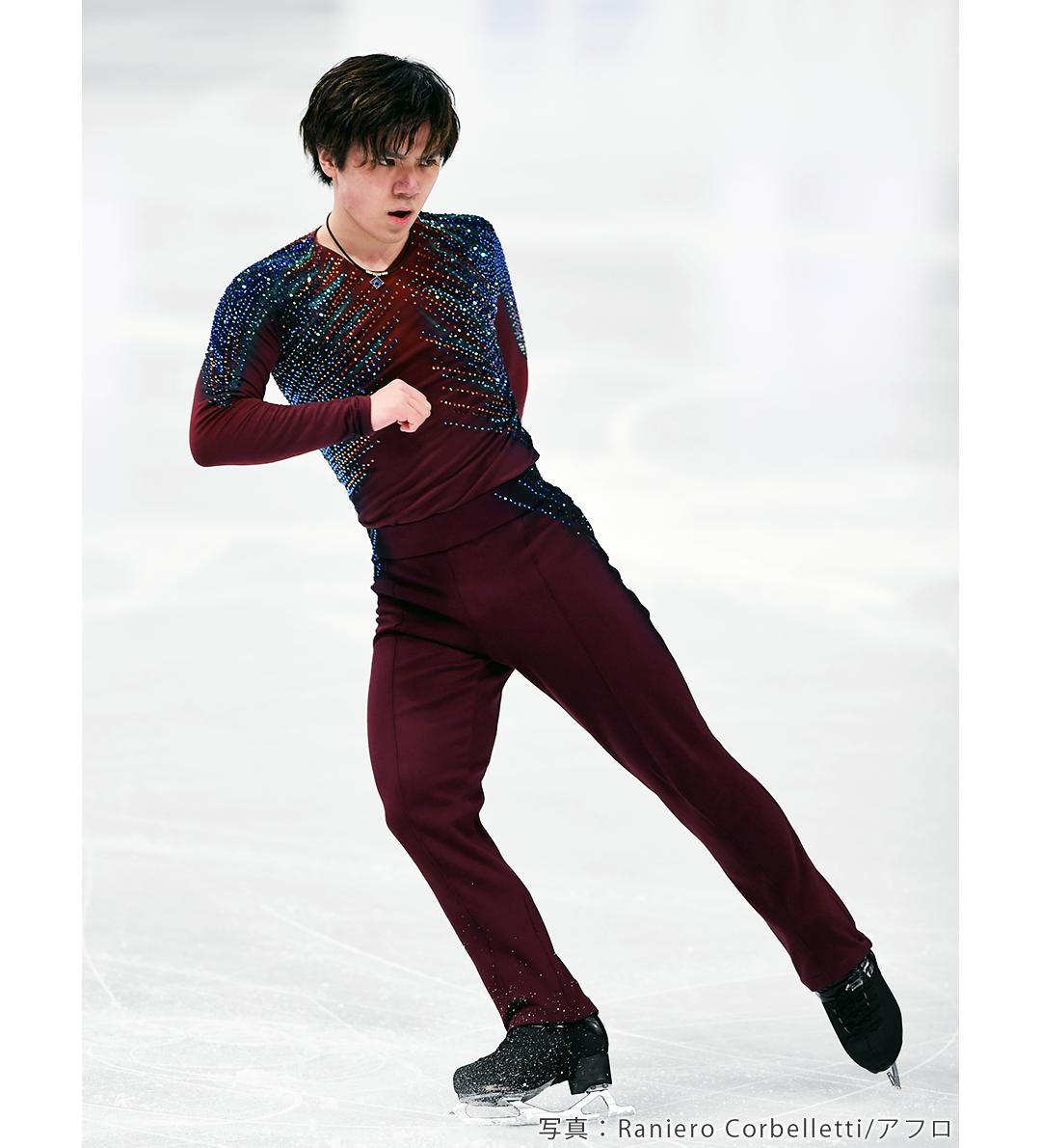 国別対抗戦2021に出場するフィギュアスケート男子、宇野昌磨