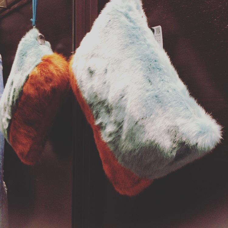 ZARAで見つけたエコファーバックとレトロ&ヴィンテージなスカートで2016秋をスタート☆ _1_1