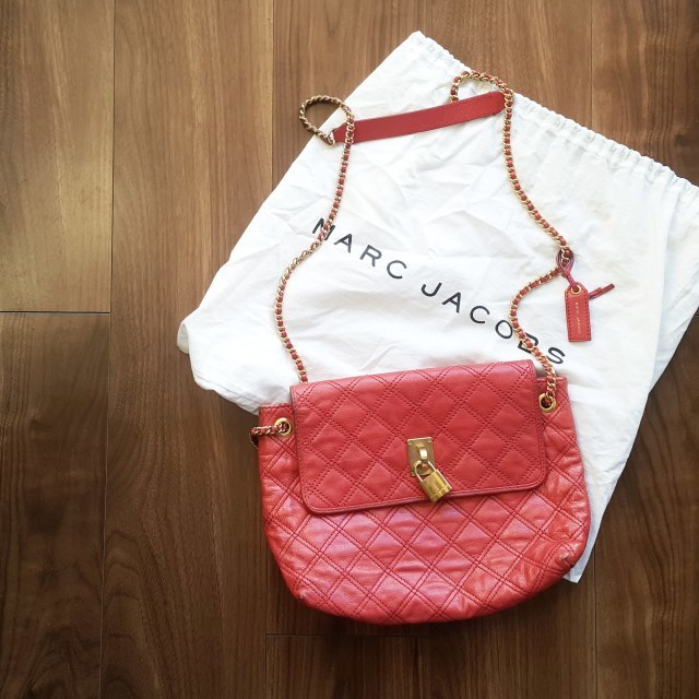 MARC JACOBS ピンクチェーンバッグ