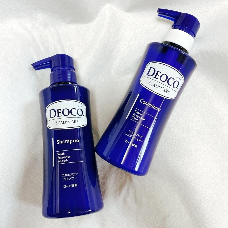 加齢臭対策にもおすすめのデオコから頭皮のニオイを防ぐスカルプシャンプーとコンディショナーが新発売