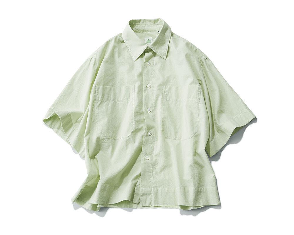 グリーンシャツ¥38,500(参考価格)/アマン(フィナモレ)