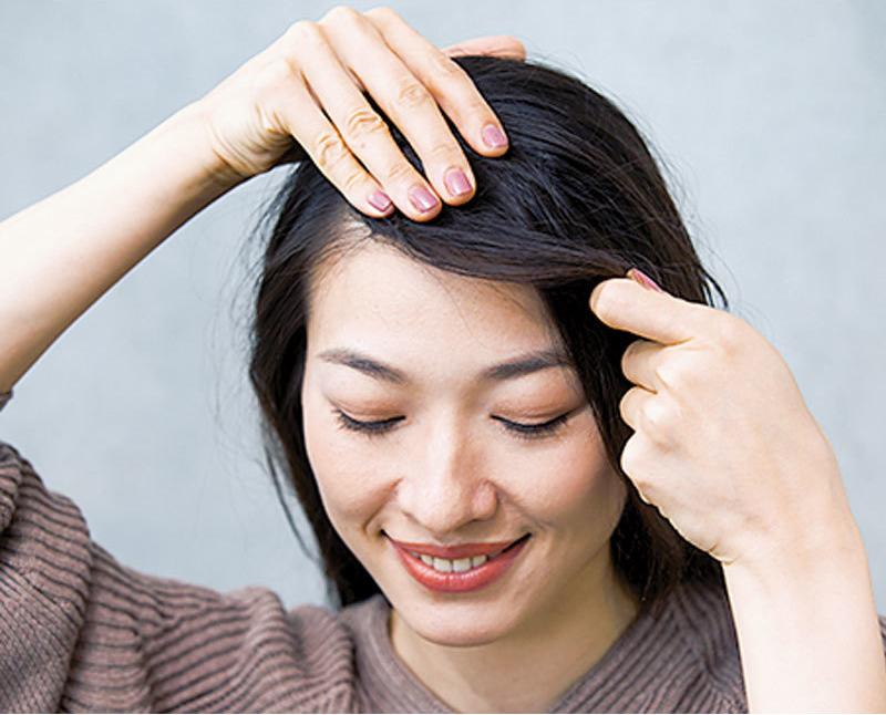 アラフォーの前髪スタイリング術2