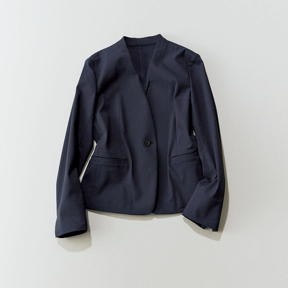 40代ファッション2019年夏のお仕事服_リネンジャケット