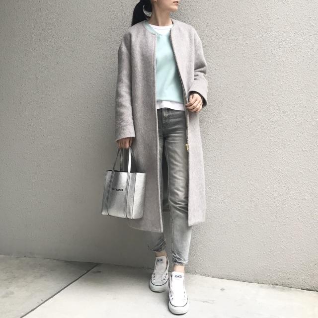 冬から春へのファッションはカラーニットにおまかせ!_1_4
